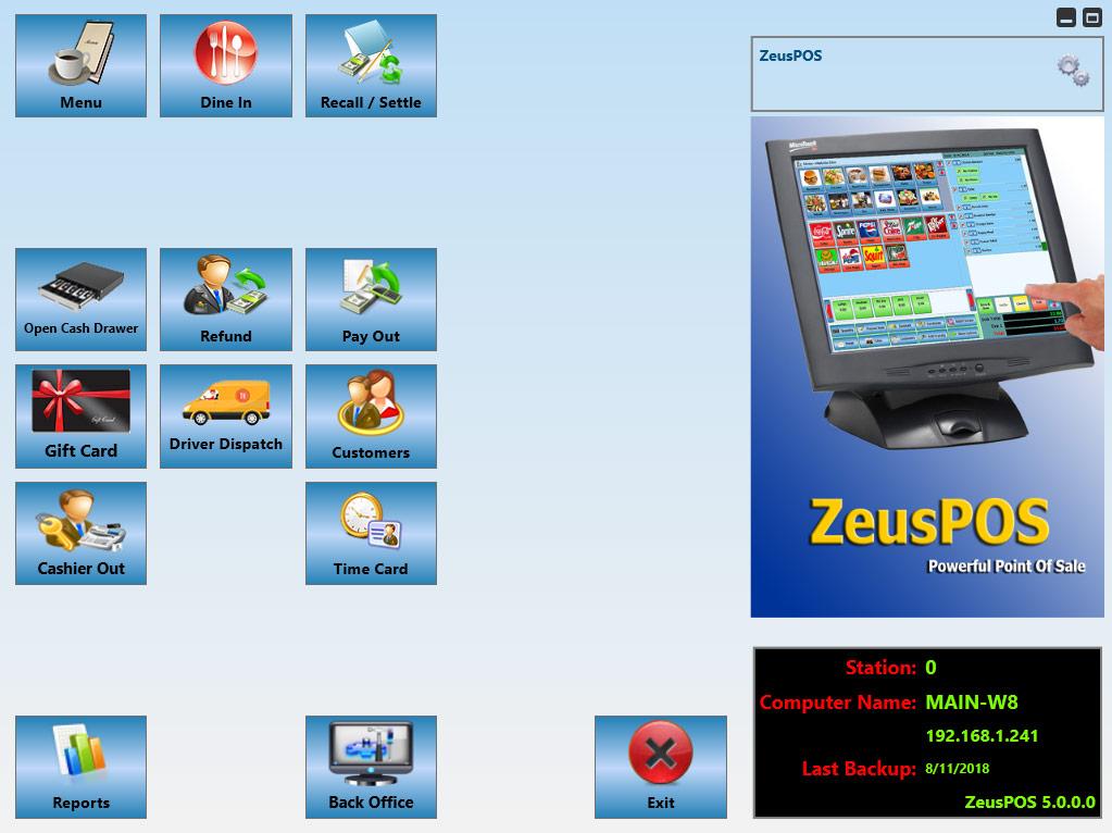 ZeusPOS User's Manual